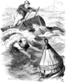 William Henry Smith (politician) and Robert Gascoyne-Cecil, 3rd Marquess of Salisbury - Cartoon from Punch - 1891 - Project Gutenberg eText 14808.png