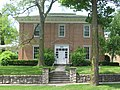 William Lawrence House, Bellefontaine, front with steps.jpg
