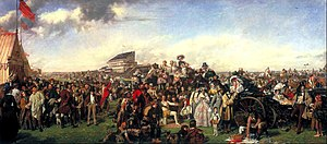 Epsom Derby - The Derby Day by William Powell Frith (1858)