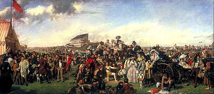 The Derby Day by William Powell Frith (1858) William Powell Frith - The Derby Day - Google Art Project.jpg