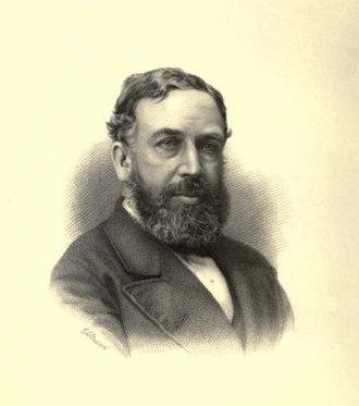 William Stanley Jevons - Portrait of W. Stanley Jevons at 42, by G. F. Stodart