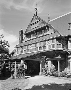 William Watts Sherman House (Newport, RI) - from southwest.jpg