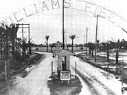 Williams Army Airfield - Main Gate 1942