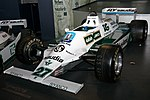 Williams FW07B front-left 2017 Williams Conference Centre.jpg