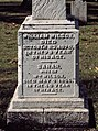 Wilson (William and Sarah), Bethel Cemetery, 2015-10-15, 02.jpg