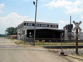 Wilson, Arkansas - Abandoned Lee Wilson and Company warehouse, 2010