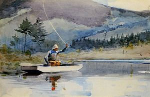 Winslow Homer - A quiet pool on a sunny day.jpg
