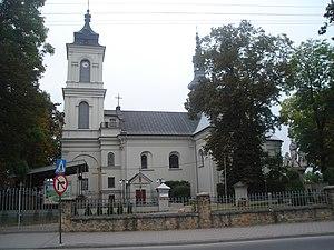 Włoszczowa - Church in Włoszczowa