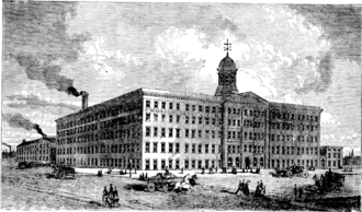 Music of Baltimore - Piano factory of Wm. Knabe & Co. in 1873