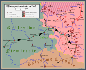 Battle of Głogów - Campaigns of the 1109 Polish-German conflict