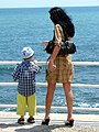 Woman and Child along the Seafront - Constanta - Romania.jpg