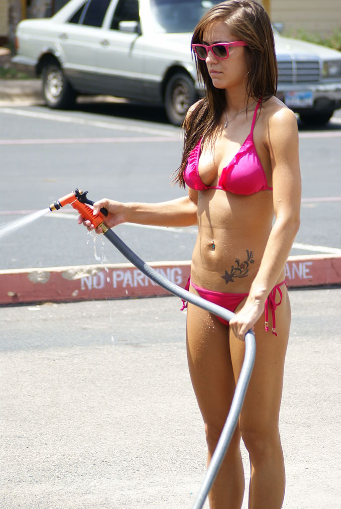 Women Washing Cars Add