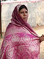 Woman in Sari - Mysore - India.JPG