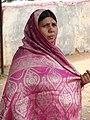 Woman in Sari - Mysore - India.JPG