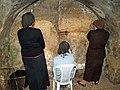 Women praying in the Western Wall tunnels by David Shankbone.jpg