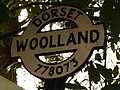 Woolland, detail of finger-post - geograph.org.uk - 1752221.jpg