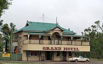Wooroolin, Queensland - The Grand Hotel