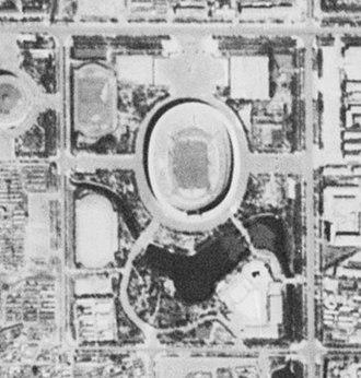 Workers' Stadium - Satellite image of Workers' Stadium.  (1967-09-20)