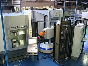 Automation - Automated milling machines