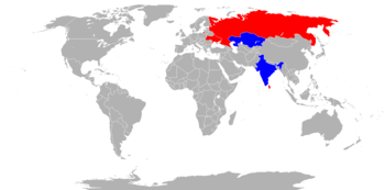 World operators of the MiG-27