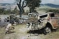 Wrecked German Transport Marks the Retreat From Rome, 18 June 1944 TR1917.jpg