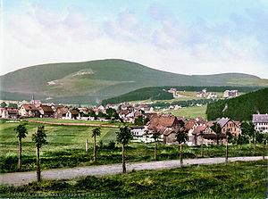 Braunlage - Wurmberg around 1900