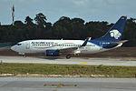 XA-CTG Boeing 737-752 Aero Mexico (24085489962).jpg