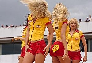 Castlemaine XXXX - XXXX Angels at Eastern Creek Raceway, Sydney