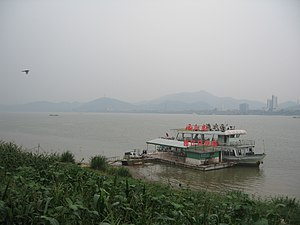Pearl River (China) - Image: Xijiang Zhaoqing