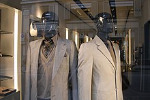 c0bb4bb3ff3 Yves Saint Laurent men's wear in Florence, Italy, 2011