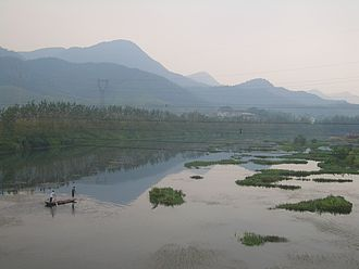 Hubei - Fishermen on the Fushui River, Yangxin County