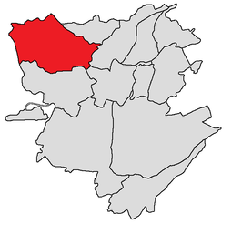Ajapnyak-district (in rood)