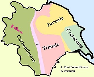 West Yorkshire - Geology of Yorkshire