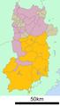Yoshino District in Nara prefecture Ja.png