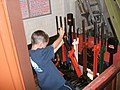Young Signalman at Work - geograph.org.uk - 247121.jpg
