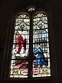 Ypreville-Biville (Seine-Mar.) église d'Ypreville, vitrail 07.jpg