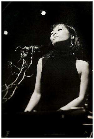 Asobi Seksu - Yuki Chikudate with Asobi Seksu onstage, 2006