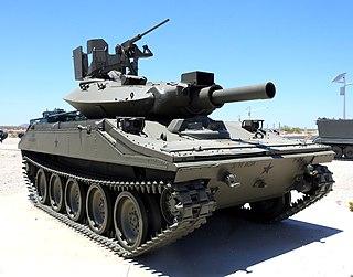 M551 Sheridan American light tank