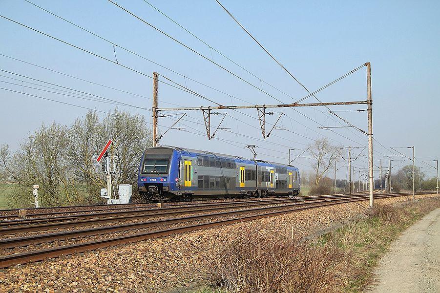 Z 23500 du TER Nord-Pas-de-Calais.