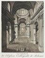 Zentralbibliothek Solothurn - INTERIEUR de lEglise Collégiale de Soleure - aa0327.tif