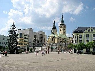 Žilina - Andrej Hlinka Square