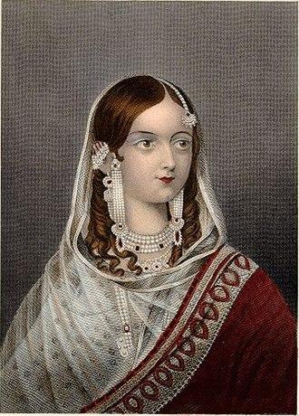 Zeenat Mahal - Zeenat Mahal Begum Sahiba