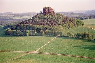 Zirkelstein - View of the Zirkelstein from the Kaiserkrone