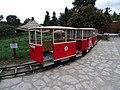 Zoo Praha, dětská tramvaj (02).jpg