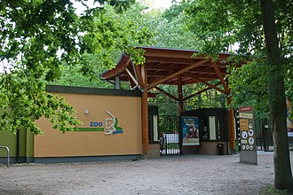 Rostock Zoo - Entrance at Barnstorfer Ring
