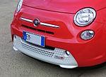 """15 - EXPO MILANO 2015 - 500e automobile grill facing left focus on automobiles.jpg"