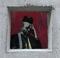 """Concrete Confessional"" Banksy in Cooper Union October 2013.jpg"
