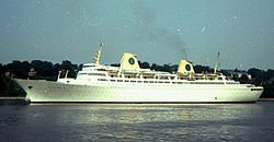 Die Kungsholm 1970 in Hamburg