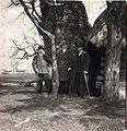 """""""Trzy Dęby"""", Pszczyna, ok.1922r. Stąd do Powstania Śląskiego wyruszali powstańcy w roku 1920.jpg"""