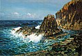 'Cliffs on Offshore Island' by D. Howard Hitchcock.jpg